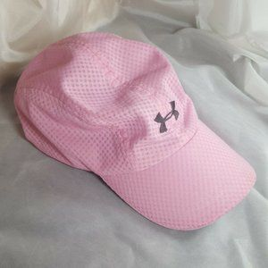 Under Armour Womens Pink Cycling Hat Cap